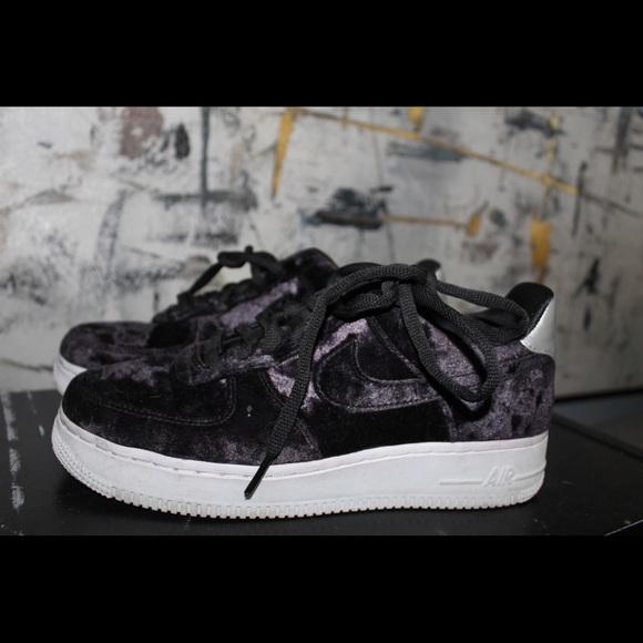 9d28dd4c84 Nike Shoes | Velvet Air Force 1 | Poshmark